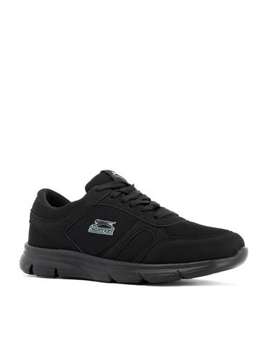 Slazenger Slazenger Escape I Sneaker Erkek Ayakkabı    Siyah